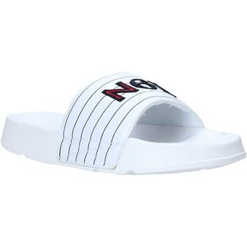 kengät Miehet Rantasandaalit Navigare NAM019050 Valkoinen