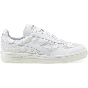 kengät Naiset Matalavartiset tennarit Diadora 201.173.346 Valkoinen