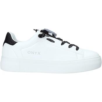 kengät Naiset Matalavartiset tennarit Onyx S20-SOX701 Musta