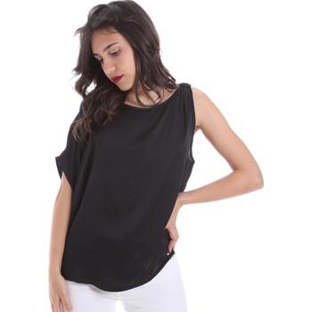 vaatteet Naiset Topit / Puserot Gaudi 011FD45057 Musta