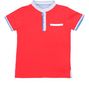 vaatteet Lapset Lyhythihainen poolopaita Losan 015-1791AL Punainen
