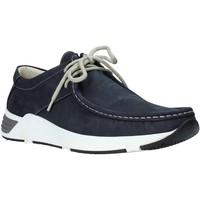 kengät Miehet Purjehduskengät Valleverde 11872 Sininen