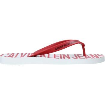 kengät Miehet Varvassandaalit Calvin Klein Jeans B4S0676 Punainen