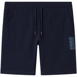 vaatteet Miehet Shortsit / Bermuda-shortsit Napapijri NP0A4E1M Sininen