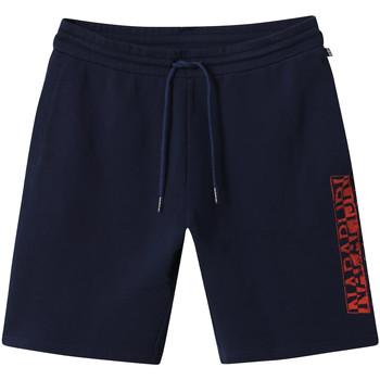 vaatteet Miehet Shortsit / Bermuda-shortsit Napapijri NP0A4E1N Sininen