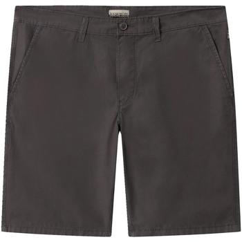 vaatteet Miehet Shortsit / Bermuda-shortsit Napapijri NP0A4E1L Harmaa