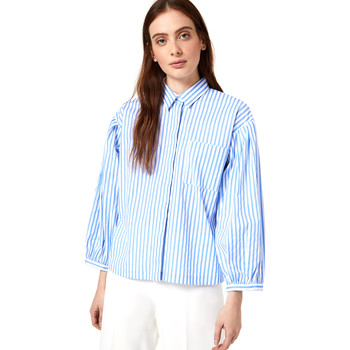 vaatteet Naiset Paitapusero / Kauluspaita Liu Jo WA0421 T4169 Sininen