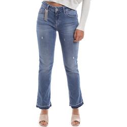 vaatteet Naiset Bootcut-farkut Liu Jo UA0022 D4448 Sininen