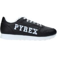 kengät Miehet Matalavartiset tennarit Pyrex PY020208 Musta