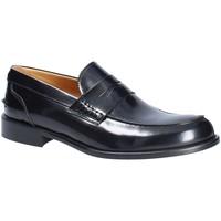 kengät Miehet Mokkasiinit Exton 102 Musta