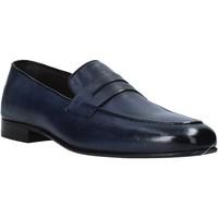 kengät Miehet Mokkasiinit Exton 1020 Sininen