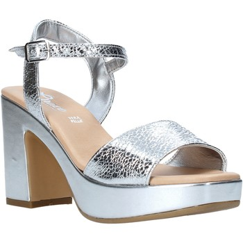 kengät Naiset Sandaalit ja avokkaat Grace Shoes L220 Hopea