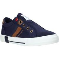 kengät Lapset Matalavartiset tennarit Fred Mello S20-SFK305 Sininen
