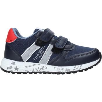 kengät Pojat Matalavartiset tennarit Fred Mello S20-SFK318 Sininen