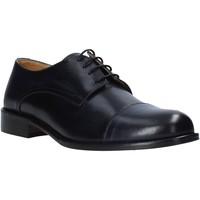 kengät Miehet Derby-kengät Exton 6013 Musta