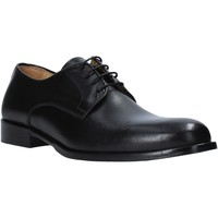 kengät Miehet Herrainkengät Exton 1374 Musta