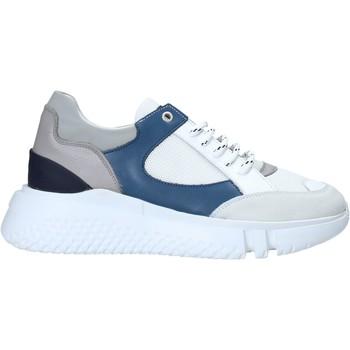 kengät Miehet Matalavartiset tennarit Exton 794 Valkoinen