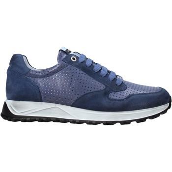 kengät Miehet Matalavartiset tennarit Exton 741 Sininen