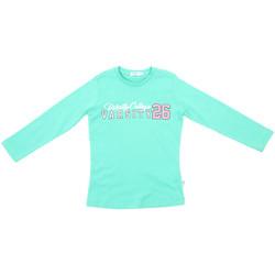 vaatteet Lapset T-paidat pitkillä hihoilla Melby 70C5615 Vihreä