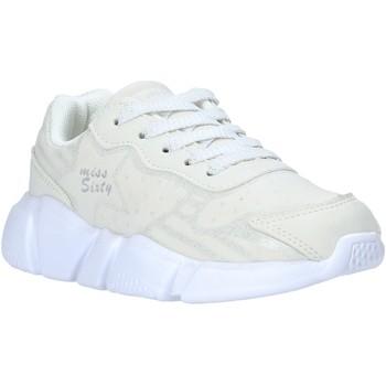 kengät Lapset Matalavartiset tennarit Miss Sixty S20-SMS737 Valkoinen