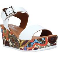 kengät Naiset Sandaalit ja avokkaat Grace Shoes 07 Valkoinen