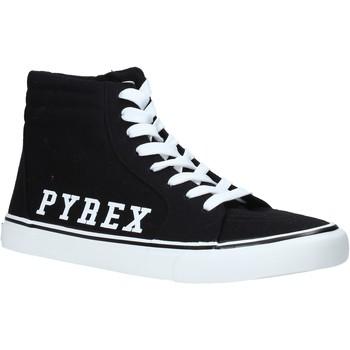 kengät Miehet Korkeavartiset tennarit Pyrex PY020203 Musta