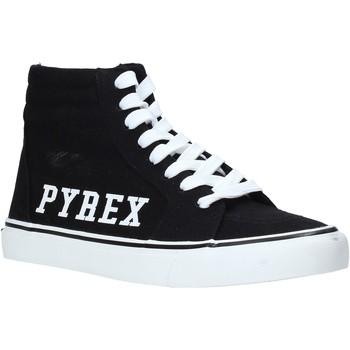 kengät Naiset Korkeavartiset tennarit Pyrex PY020226 Musta