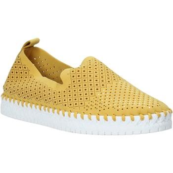 kengät Naiset Tennarit Grunland SC4916 Keltainen