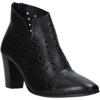 kengät Naiset Nilkkurit Mally 6878 Musta