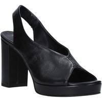 kengät Naiset Sandaalit ja avokkaat Mally 6843 Musta