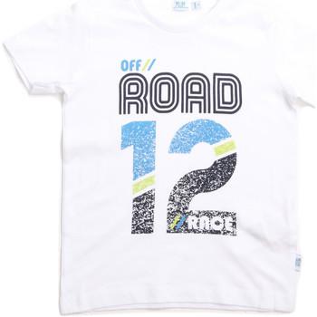 vaatteet Lapset Lyhythihainen t-paita Melby 70E5544 Valkoinen