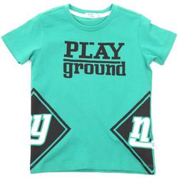 vaatteet Lapset Lyhythihainen t-paita Melby 70E5544 Vihreä