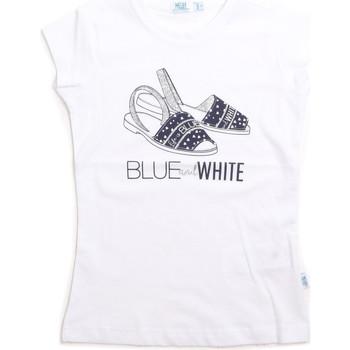 vaatteet Lapset Hihattomat paidat / Hihattomat t-paidat Melby 70E5645 Valkoinen