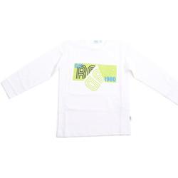vaatteet Lapset T-paidat pitkillä hihoilla Melby 70C5524 Valkoinen