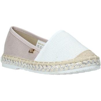 kengät Tytöt Espadrillot Miss Sixty S20-SMS704 Valkoinen