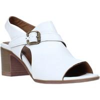 kengät Naiset Sandaalit ja avokkaat Bueno Shoes 9L102 Valkoinen