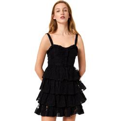 vaatteet Naiset Lyhyt mekko Liu Jo FA0312 T4190 Musta