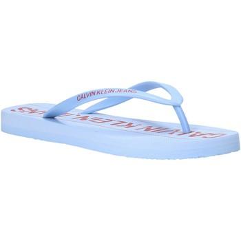 kengät Naiset Varvassandaalit Calvin Klein Jeans B4R0904 Sininen