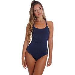 vaatteet Naiset Yksiosainen uimapuku Ea7 Emporio Armani 911029 CC417 Sininen
