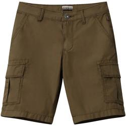 vaatteet Lapset Shortsit / Bermuda-shortsit Napapijri NP0A4E4G Vihreä
