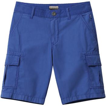 vaatteet Lapset Shortsit / Bermuda-shortsit Napapijri NP0A4E4G Sininen