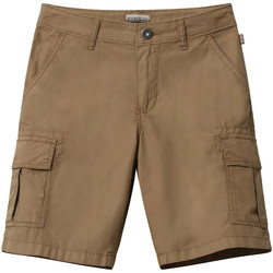 vaatteet Lapset Shortsit / Bermuda-shortsit Napapijri NP0A4E4G Ruskea