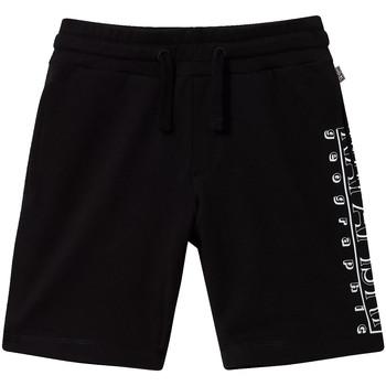 vaatteet Lapset Shortsit / Bermuda-shortsit Napapijri NP0A4E4I Musta