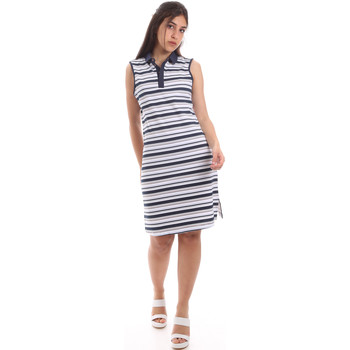 vaatteet Naiset Lyhyt mekko Ea7 Emporio Armani 3HTA58 TJI3Z Sininen