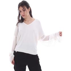 vaatteet Naiset Topit / Puserot Gaudi 011FD53007 Valkoinen