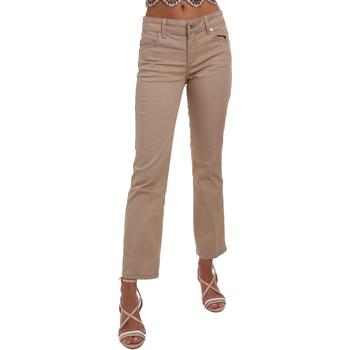 vaatteet Naiset Chino-housut / Porkkanahousut Liu Jo WA0185 T7144 Beige