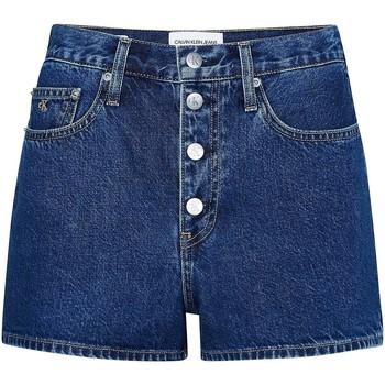 vaatteet Naiset Shortsit / Bermuda-shortsit Calvin Klein Jeans J20J213866 Sininen