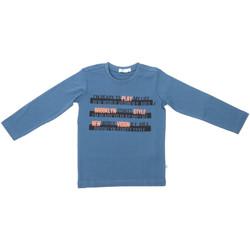 vaatteet Lapset T-paidat pitkillä hihoilla Melby 70C5524 Sininen