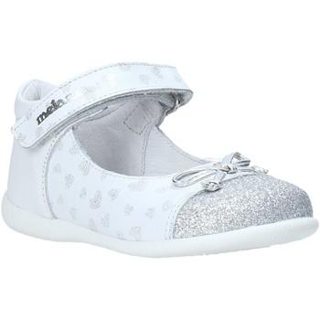 kengät Tytöt Balleriinat Melania ME0100A0S.A Valkoinen