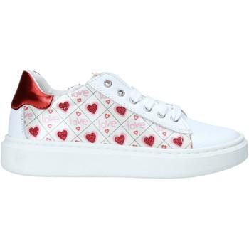 kengät Tytöt Matalavartiset tennarit Melania ME2252D0S.A Valkoinen
